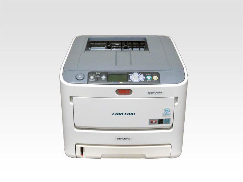 C610dn2 OKI COREFIDO A4カラーレーザープリンタ 約5,900枚【中古】【送料無料セール中! (大型商品は対象外)】