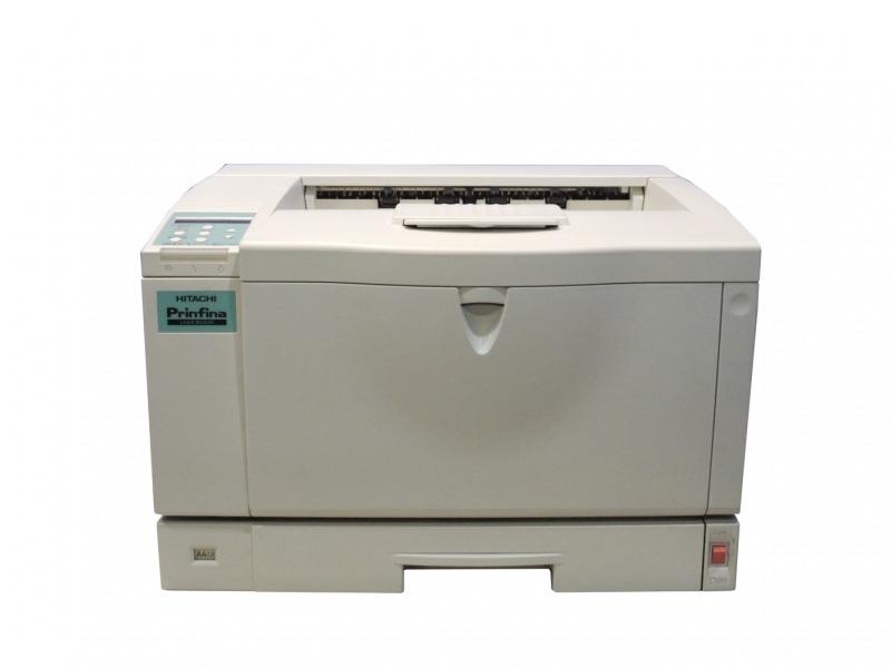 HITACHI Prinfina LASER BX2660 (PC-PL2660) A3モノクロレーザープリンタ 約1.4万枚 【中古】