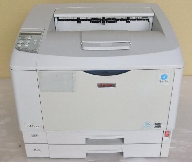 IPSiO SP 6120 A3モノクロレーザープリンタ 約9.2万枚 Windows98/95対応【中古】