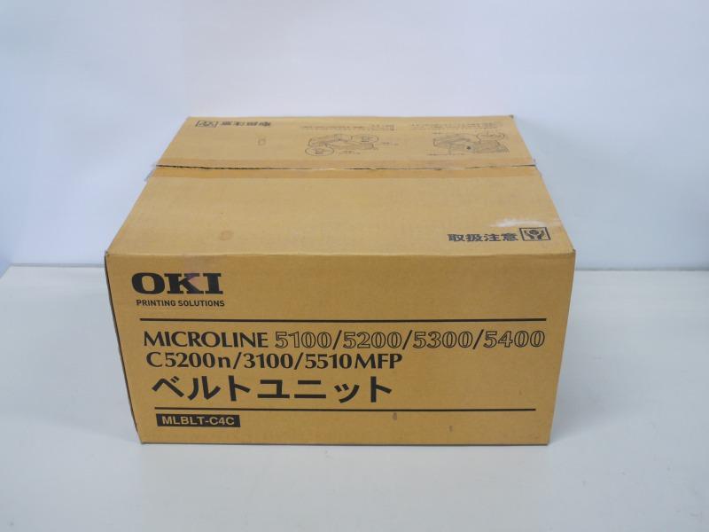 大量入荷 OKI 転写ベルトユニット MICROLINE 5200/5300/5400/3100用 OKI MLBLT-C4C MLBLT-C4C 転写ベルトユニット 未使用品, ミヌマク:384f584c --- kventurepartners.sakura.ne.jp