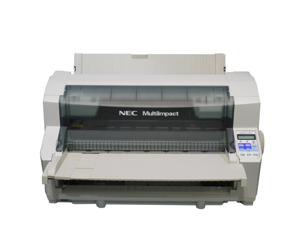 NEC MultiImpact 700JA (PR-D700JA) 高複写印刷対応ドットプリンタ 用紙ガイド付き 複写最大9枚【中古】【送料無料セール中! (大型商品は対象外)】