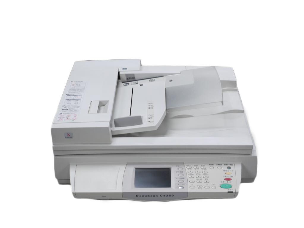 A3 document scanner with the FUJI XEROX Fuji Xerox DocuScan C4250 ADF for  LAN