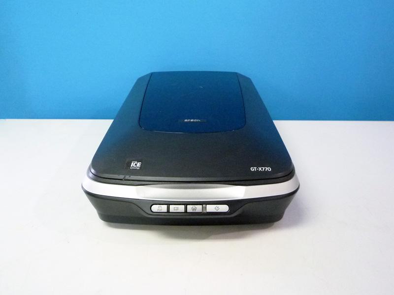 メーカー:EPSON 即納最大半額 発売日:2007年9月6日 GT-X770 EPSON Colorio 人気ブランド 中古 A4フラットヘッドスキャナー