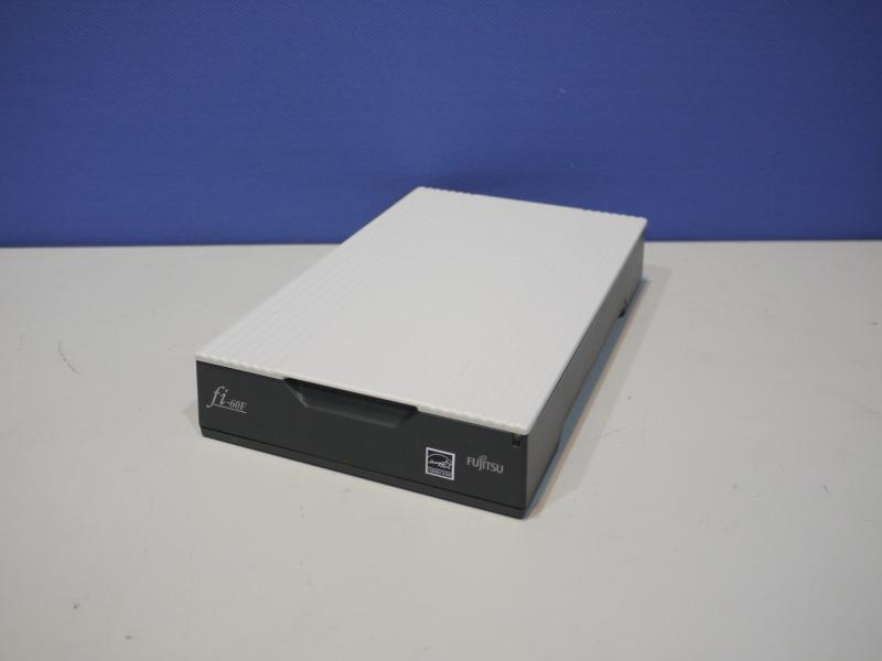 FUJITSU Image Scanner fi-60F A6フラットヘッドスキャナー 付属品付き【中古】【送料無料セール中! (大型商品は対象外)】