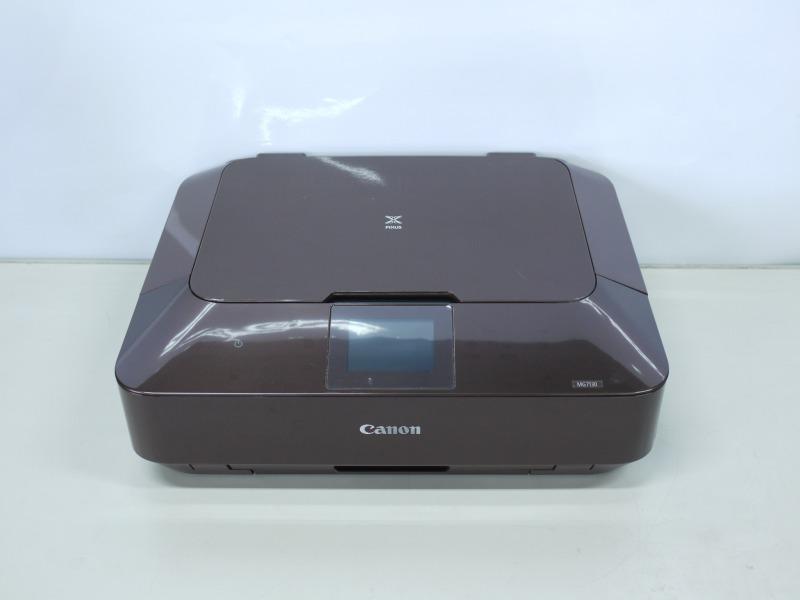 【BCI-350/351インク対応】PIXUS MG7130 BW Canon A4インクジェット複合機 Wi-Fi対応【中古】【送料無料セール中! (大型商品は対象外)】
