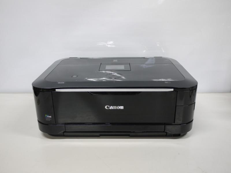 PIXUS MG6130BK Canon A4インクジェット複合機 有線・無線LAN対応【中古】【送料無料セール中! (大型商品は対象外)】