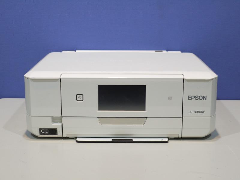 EP-808AW EPSON EPSON A4インクジェット複合機 有線/無線LAN対応【中古】 EP-808AW【送料無料セール中! (大型商品は対象外)】, LEDHIDカーパーツ通販オートエッジ:c22a3fef --- vzdynamic.com