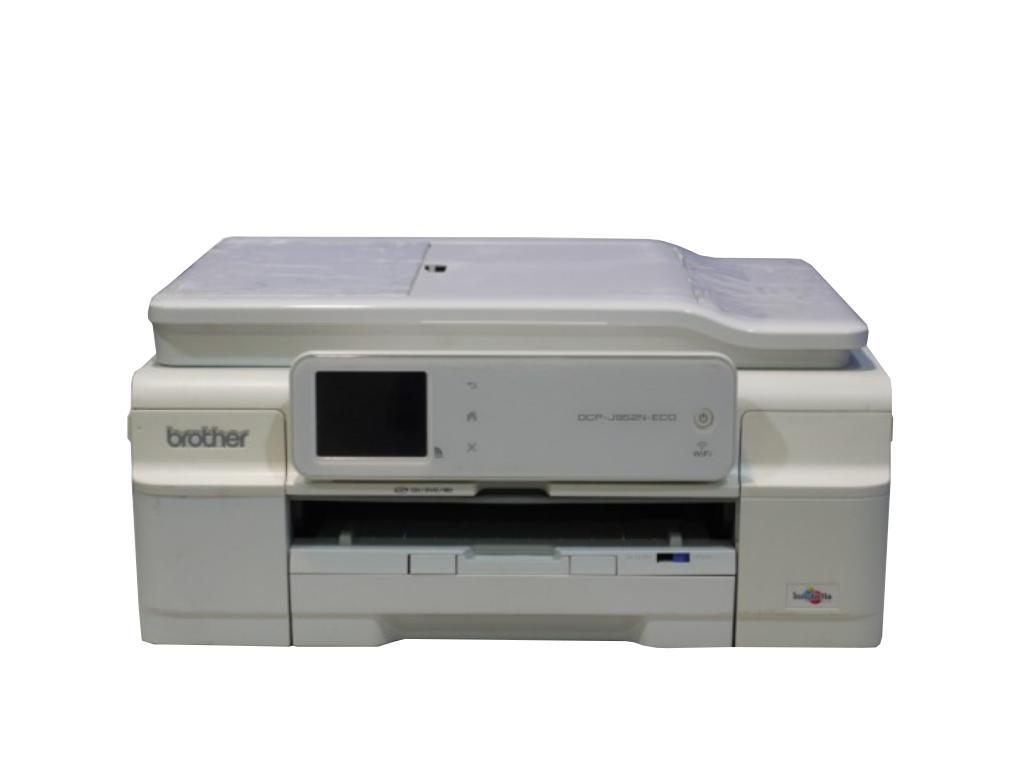 Brother DCP-J952N-ECO-W ホワイト A4インクジェット複合機 有線/無線LAN/ADF【中古】【送料無料セール中! (大型商品は対象外)】