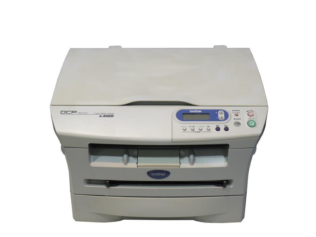Brother DCP-7010 A4モノクロレーザー複合機 USB/パラレル 約1.6万枚 Windows98対応【中古】【送料無料セール中! (大型商品は対象外)】