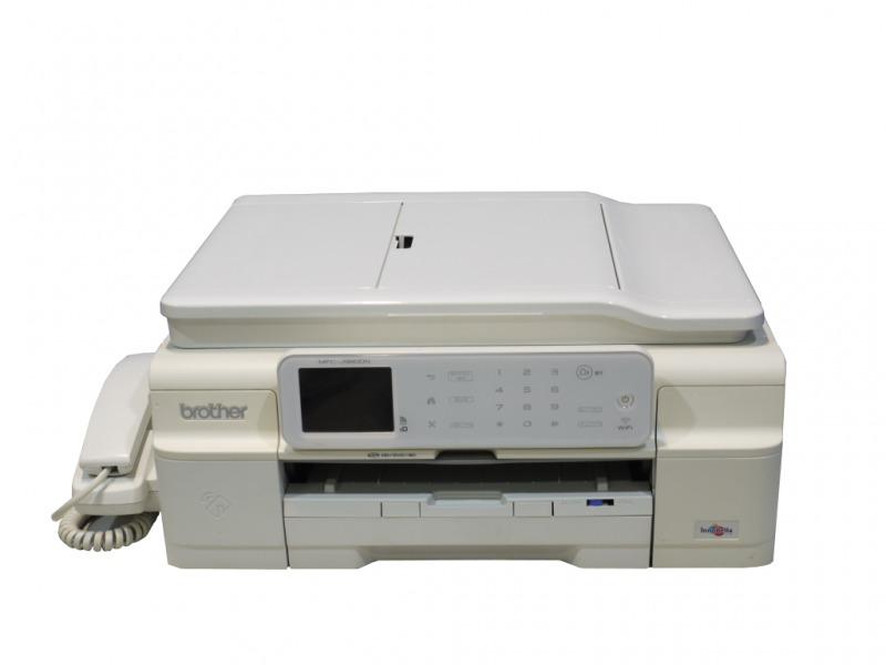 Brother MFC-J980DN-W ホワイト ADF/FAX付き A4インクジェット複合機 デジタル子機欠品【中古】【送料無料セール中! (大型商品は対象外)】