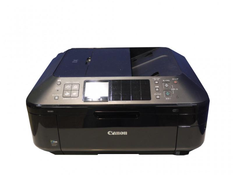 【BCI-325/326インク対応】MX883 Canon PIXUS ビジネスインクジェット複合機 FAX/ADF 有線/無線LAN対応 【中古】【送料無料セール中! (大型商品は対象外)】