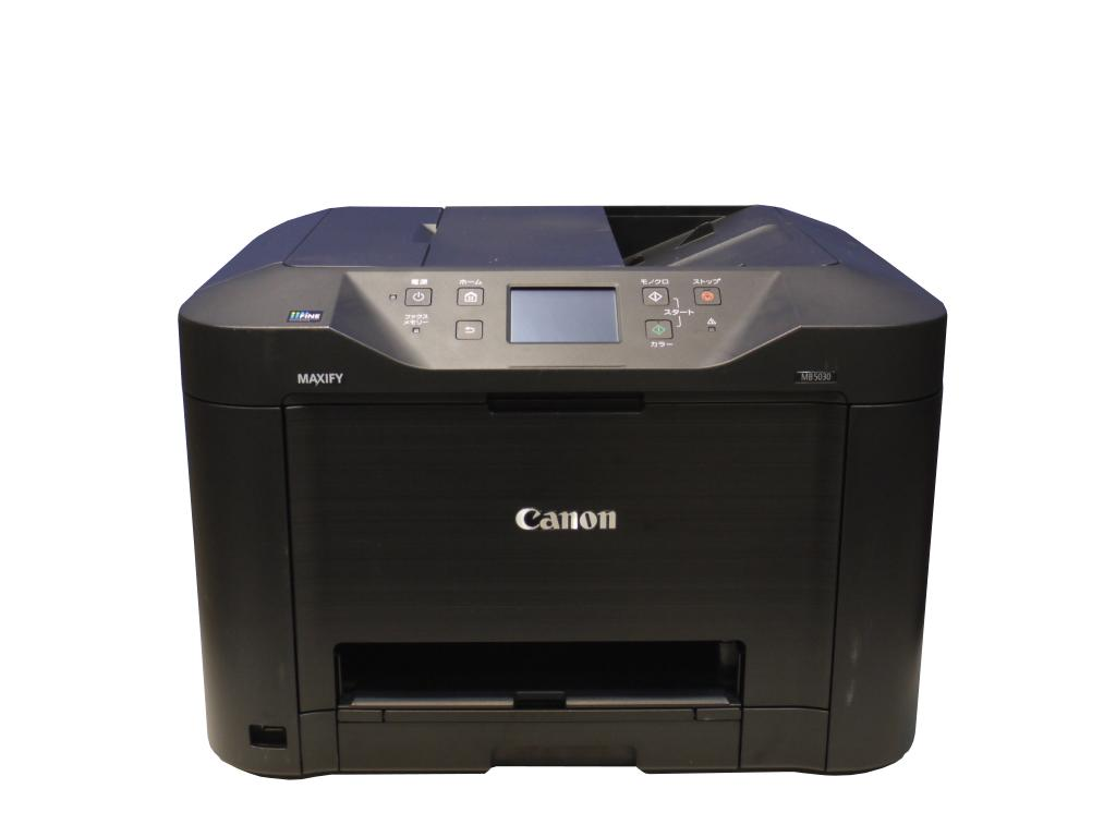 Canon MAXIFY MB5030 ビジネスインクジェット複合機 ADF/無線LAN対応 【中古】