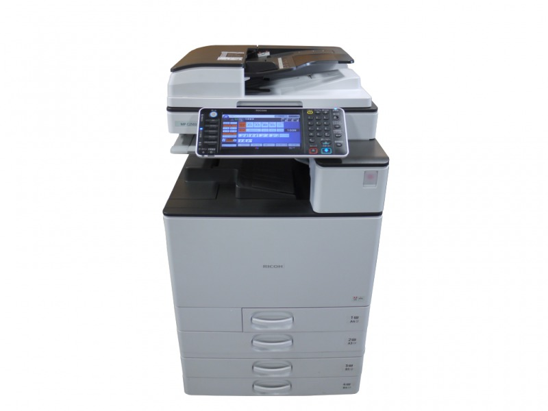 RICOH MP C2503 A3カラーデジタル複合機 約1.6万枚 2段給紙テーブル付き 【中古】