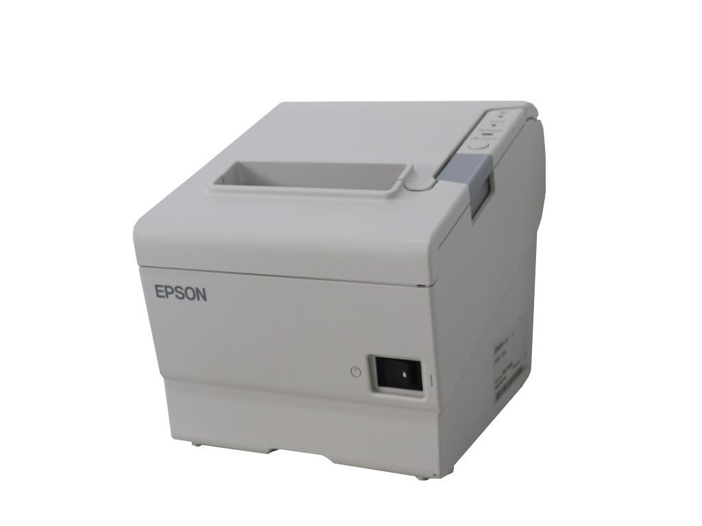 EPSON TM-T88V(TM885E491) 80mmサーマルレシートプリンタ LANインターフェイス 【中古】【送料無料セール中! (大型商品は対象外)】