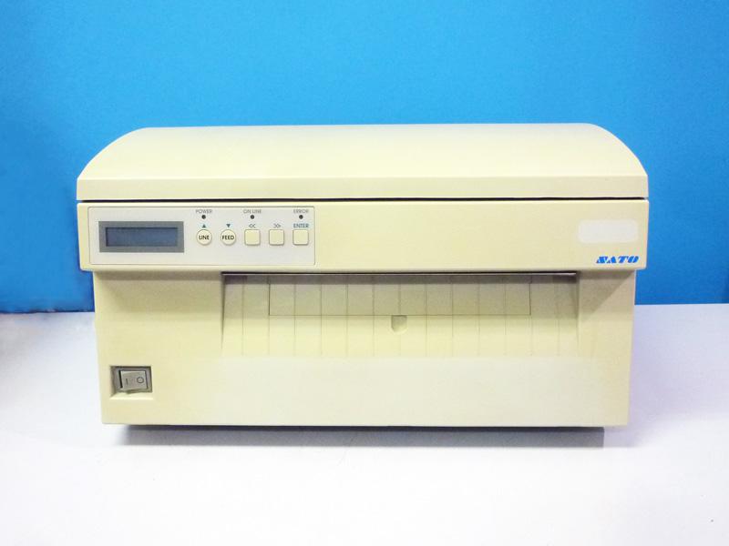 MT110w SATO 10インチ幅広ラベルプリンタ 感熱/有線LAN仕様【中古】【送料無料セール中! (大型商品は対象外)】