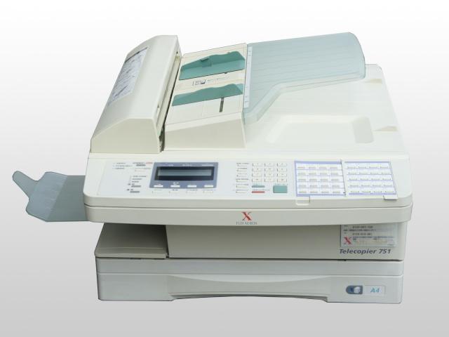 Telecopier751 富士ゼロックス FAX【中古】【送料無料セール中! (大型商品は対象外)】