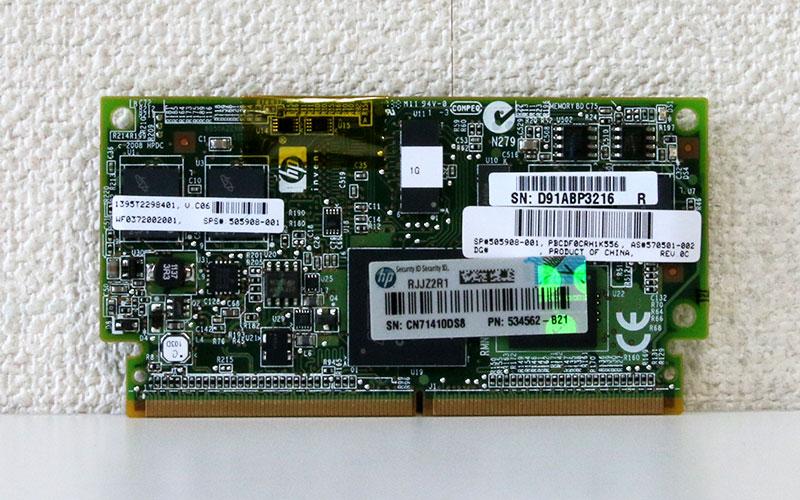 534562-B21 HP Smartアレイ P410等用 1GB フラッシュバック式ライトキャッシュメモリ【中古】【送料無料セール中! (大型商品は対象外)】