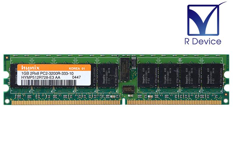 メーカー: SK hynix Inc. HYMP512R728-E3 AA アウトレット☆送料無料 1GB DDR2-400 中古メモリ PC2-3200R 1.8V 240pin ECC Registered 超定番