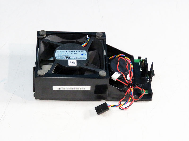 0G958P DELL OptiPlex 755/760等用ケースファン Foxconn PVA080K12H-P01【中古】【送料無料セール中! (大型商品は対象外)】