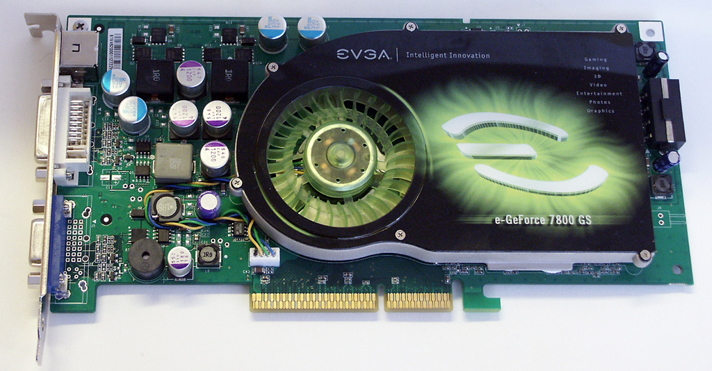 EVGA E-GEFORCE 7800 GS DRIVERS
