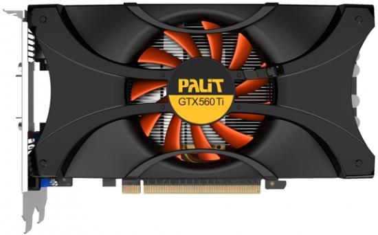 Palit GeForce GTX 560 Ti 1024MB GDDR5 NE5X56T01102-1140F 【中古】【送料無料セール中! (大型商品は対象外)】