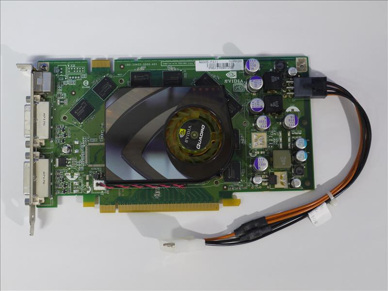 R-Device: NVIDIA Quadro FX 3500 256 MB DDR3 DVIx2 power convert