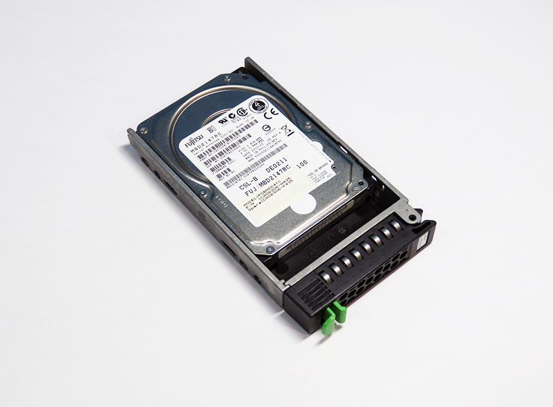 PGBHDD41C 富士通 146GB 2.5インチ/SAS/10000rpm MBD2147RC マウンタ付き【中古】【送料無料セール中! (大型商品は対象外)】