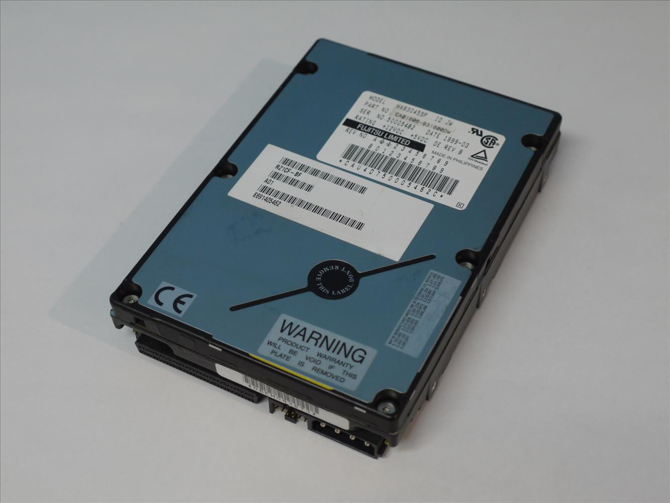 RZ1CF-BF COMPAQ / MAB3045SP FUJITSU 4.3GB 7200rpm 3.5インチ Ultra2 Wide SCSI 68-Pin 【中古】【送料無料セール中! (大型商品は対象外)】