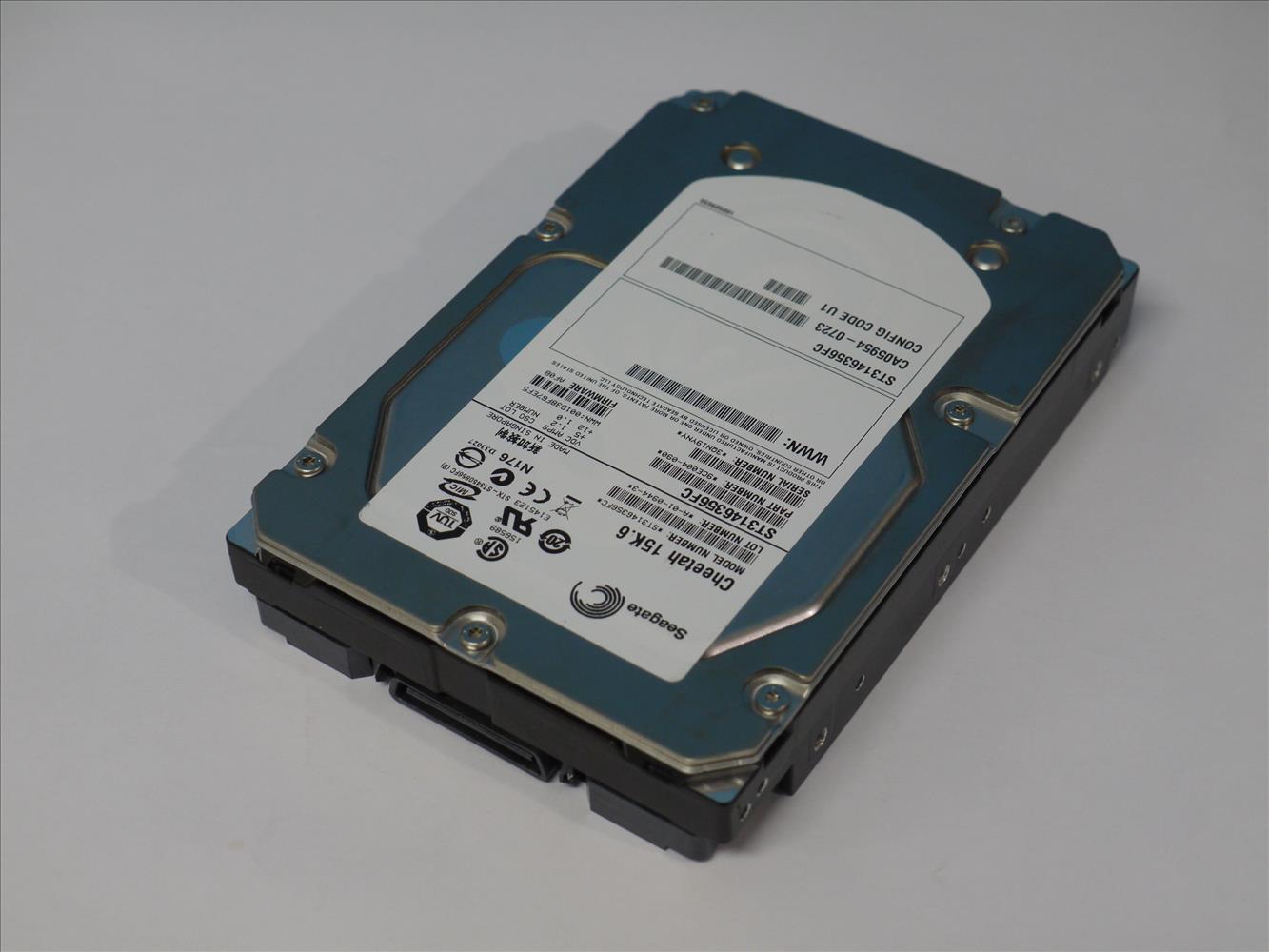 ST3146356FC SEAGATE 146GB 15000rpm 3.5インチ Fibre Channel 4 Gbps 【中古】【送料無料セール中! (大型商品は対象外)】