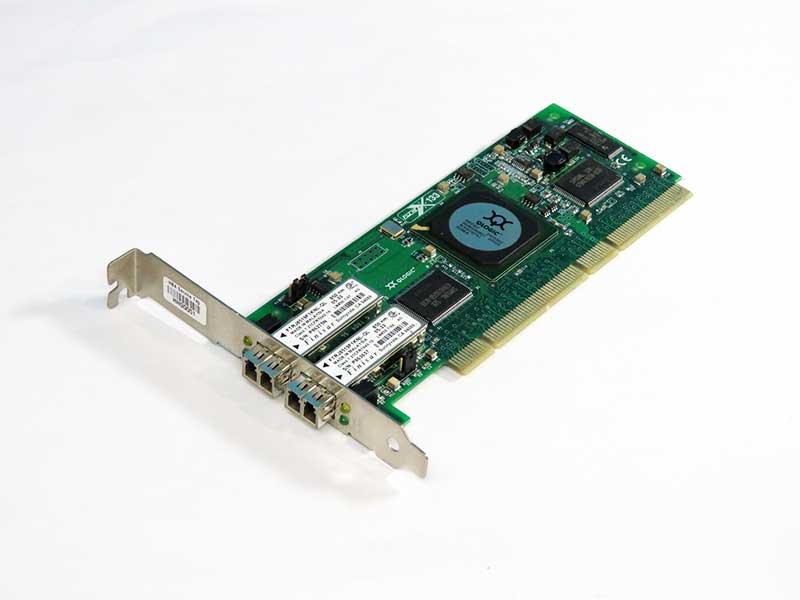 04U854 DELL 2Gigabit/Sec Dual Fibre Channel ホストバスアダプタ PCI-X QLogic SANblade QLA2342【中古】【送料無料セール中! (大型商品は対象外)】