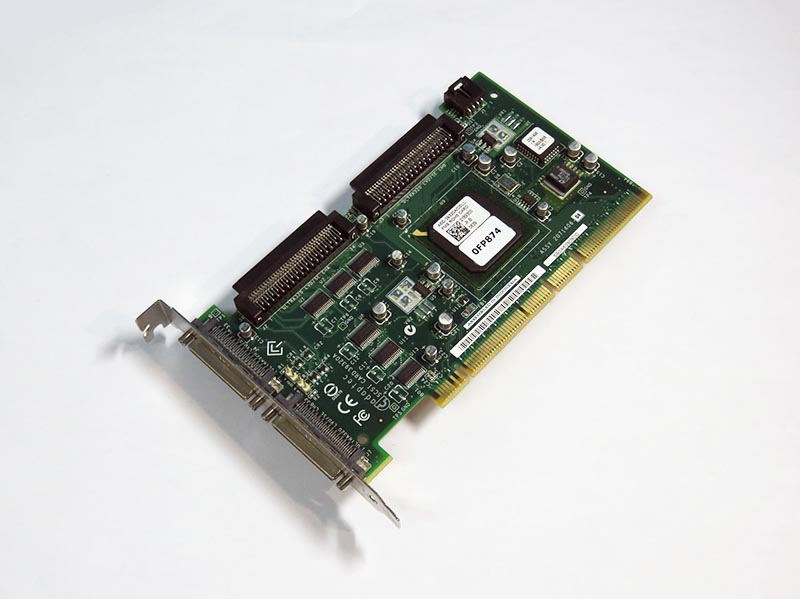 0FP874 DELL デュアルチャンネル Ultra320 SCSIカード PCI-X Adaptec ASC-39320A【中古】【送料無料セール中! (大型商品は対象外)】