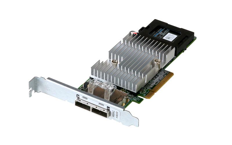 0NDD93 DELL PERC H810 SAS RAIDコントローラー PCI Express x8 1GBキャッシュメモリ+BBU搭載【中古】