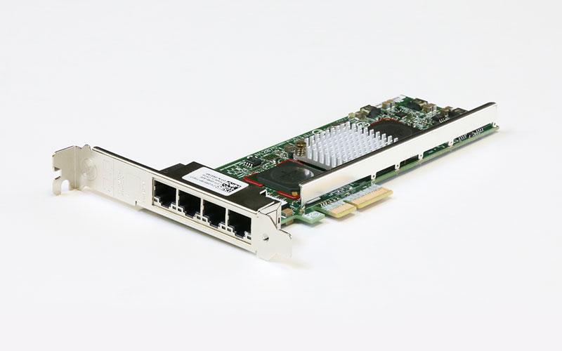 0R519P DELL 4ポート 1000BASE-T イーサネットアダプタ PCI Express x4 Broadcom 5709C CNA【中古】【送料無料セール中! (大型商品は対象外)】