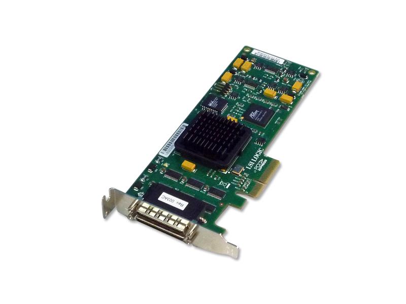 LSI22320SLE LSI Logic DualSCSI Ultra320カード PCI Express LowProfile【中古】【送料無料セール中! (大型商品は対象外)】