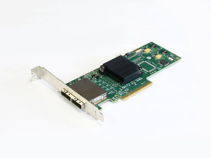 SAS 9200-8e LSI Logic SAS ホストバスアダプタ 6Gb/s PCI Express x8【中古】【送料無料セール中! (大型商品は対象外)】