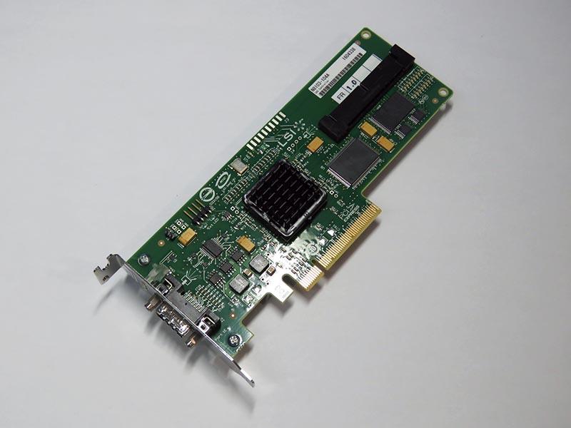 N8103-104A NEC LSI SAS3442E SAS STORAGE/RAID コントローラ PCIe Low-Profile【中古】【送料無料セール中! (大型商品は対象外)】