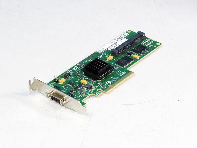 N8803-037 NEC SASコントローラ PCI Express x8 3Gb/s 8Port LSILogic SAS3442E-R LowProfile【中古】【送料無料セール中! (大型商品は対象外)】