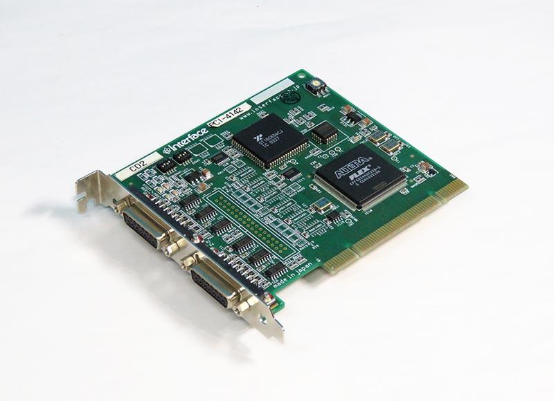 PCI-4142 Interface 調歩同期RS485(422) 2CH PCIスロット対応【中古】【送料無料セール中! (大型商品は対象外)】