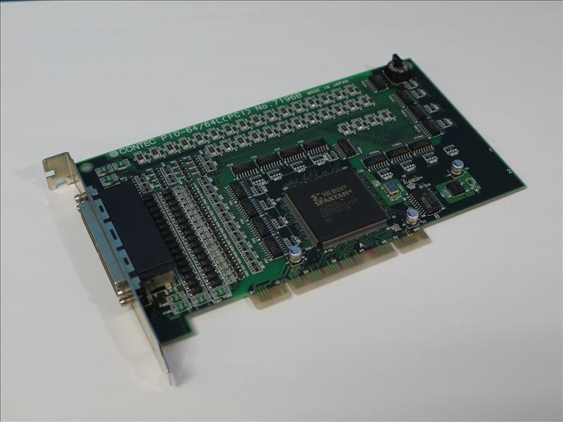 CONTEC PIO-64/64L(PCI) PCI対応 絶縁型デジタル入出力ボード 【中古】【送料無料セール中! (大型商品は対象外)】