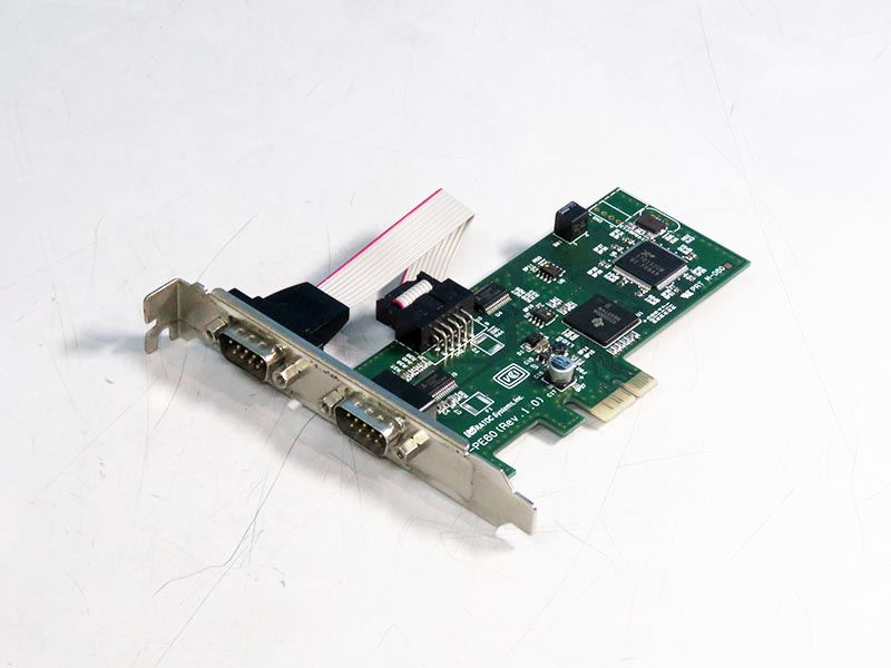 REX-PE60 RATOC System 2ポート RS-232C PCI Expressボード 921600bps【中古】【送料無料セール中! (大型商品は対象外)】