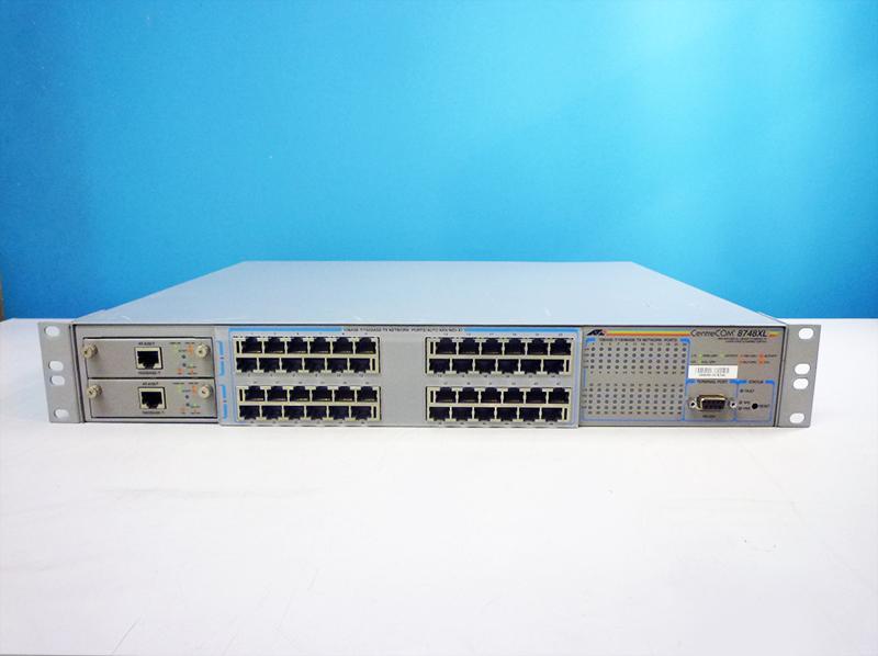 Allied Telesis Centrecom 3726 XL 24 P b112 Hub Switch