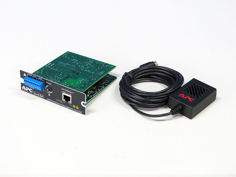 AP9619 APC Network Management Card EM+AP9512TBLK/Schneider Electric【中古】【送料無料セール中! (大型商品は対象外)】