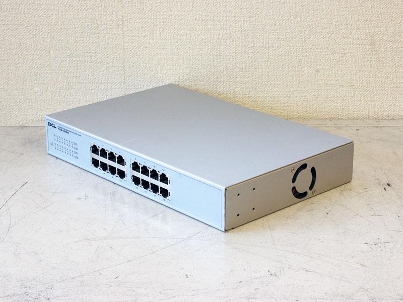 FXG-16IRM PLANEX Jumbo Frame対応 ギガビット スイッチングハブ 16ポート【中古】【送料無料セール中! (大型商品は対象外)】