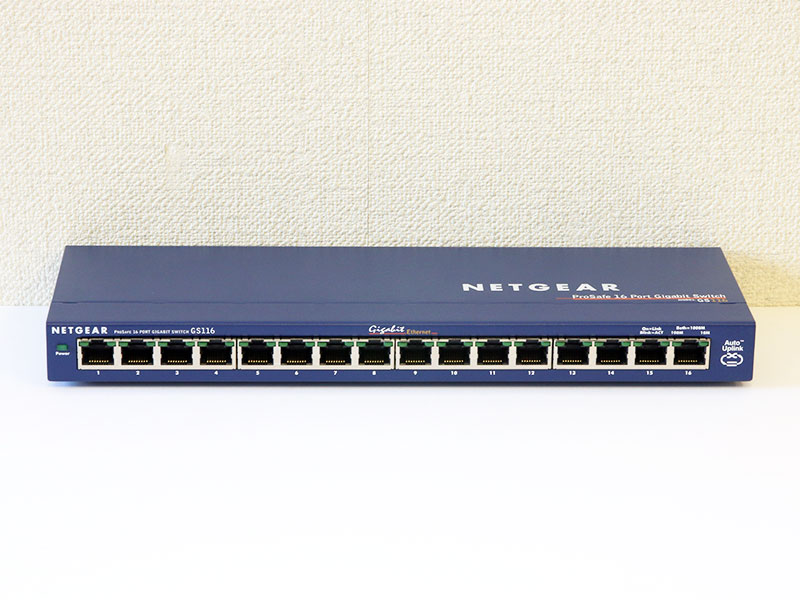GS116 v1 NETGEAR 16ポート ギガビットイーサネットスイッチ【中古】【送料無料セール中! (大型商品は対象外)】