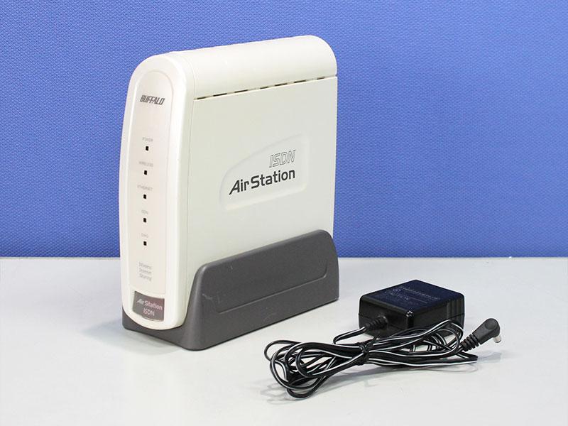 WLAR-128 BUFFALO 11Mbps無線LAN AirStation 64(40)bitWEP対応AirStation ISDNモデル ACアダプタ社外品【中古】【送料無料セール中! (大型商品は対象外)】