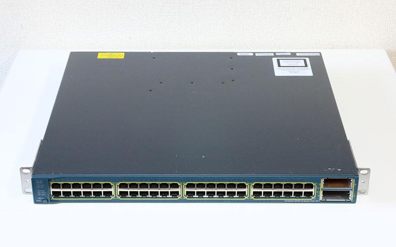 Cisco Catalyst 3560E PoE-48 WS-C3560E-48PD-E V05 ver12.2 初期化済み【中古】【送料無料セール中! (大型商品は対象外)】