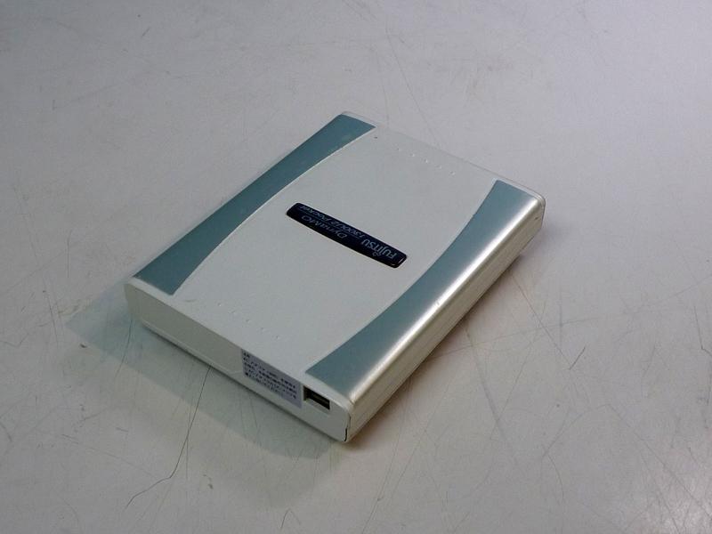 迪納摩 1300U2 口袋富士通 DMO13PT2S 1.3 GB MO 磁碟機 USB 連接