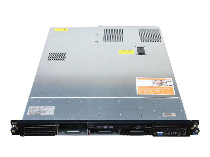 ProLiant DL360 G6 504635-371 HP Xeon Processor E5530 2.40GHz/2GB/HDD非搭載/DVD-RW/Smart アレイ P410i/電源ユニット *2【中古】