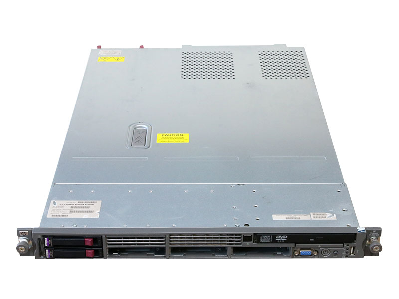 ProLiant DL360 G5 AK839A HP Xeon Processor X5460 3.16GHz/4GB/72GB *2/DVD-ROM/Smart アレイ P400i/電源ユニット *2【中古】【送料無料セール中! (大型商品は対象外)】