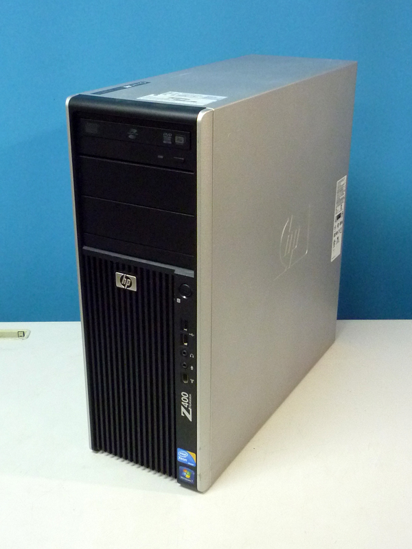 Z400 HP Workstation later water cooled-Xeon W3520 2 66 GHz / 12 GB / 500  GB/Windows7 Professional x64